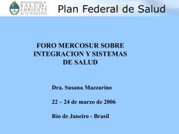 Plan Federal de Salud 2004