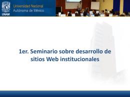 Presentación ppt del seminario - Recursos web