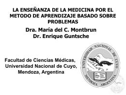 Enseñanza de la medicina por ABP