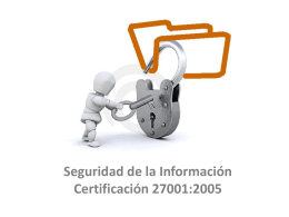Interpretación de ISO 27001:2005