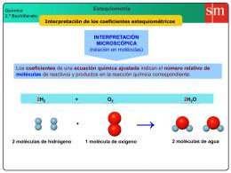 1 coeficientes estequiométricos