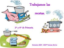 Recetas - WordPress.com