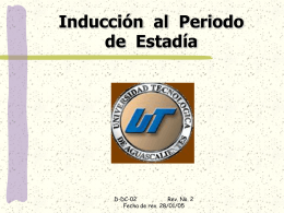 estadía - Universidad Tecnológica de Aguascalientes