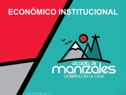 hacienda 2012 - Alcaldia de Manizales