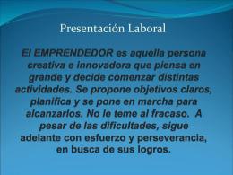Cuerpo - Profesor Jorge CAMBLONG