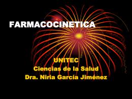 farmacocinetica.