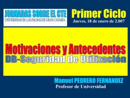 requisitos básicos establecidos - Universidad de Las Palmas de
