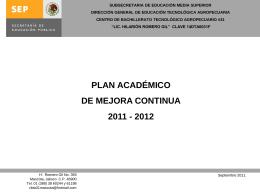 Diapositiva 1 - Sistema de Evaluación y Mejora