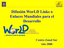 Difusión WorLD Links - Centro Zonal Sur