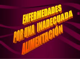 PRESENTACIÓN DE ENFERMEDADES alex