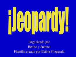 Jeopardy - Park Languages US
