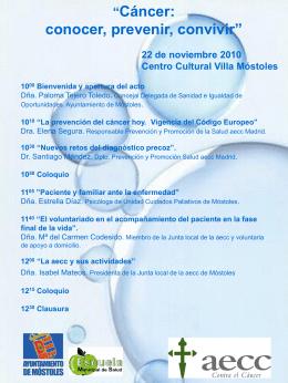 Mesa Redonda cancer 22-11-10