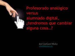 presentacion sobre las TiCs vs Brecha digital
