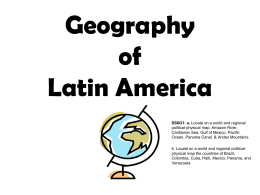 LA-Geography of Latin America
