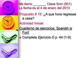 5 NM Proposito 15 501 STUDENT