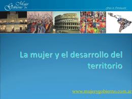 Diapositiva 1 - Grupo Mujer y Gobierno