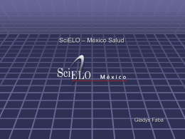 modelo SciELO México / Salud