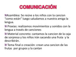COMUNICACIÓN - mi centro educativo