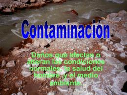 Contaminación - pequesdeuruguay