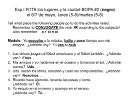 Esp.II R2T6 La niñez BOPA #4 (rojo) el 6/7 de