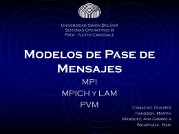 MPI - LDC - Universidad Simón Bolívar