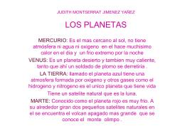 judith montserrat jimenez yañez los planetas