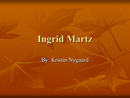 Ingrid Martz - Level1MexicanArtists