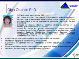 Consultores - Olga M Obando