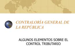 Labor Contralora - Ministerio de Hacienda