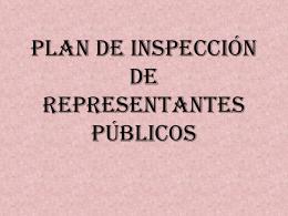 Plan de inspección de alcaldes y concejales de urbanismo