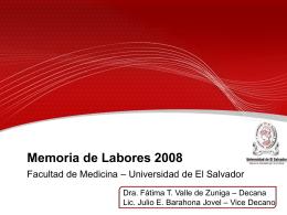 Memoria 2008 (descargar PPT)