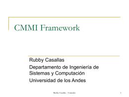 Introducción a CMMI