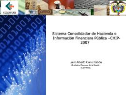 Aplicación de XBRL al plan de cuentas público de Colombia