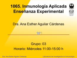 1065. Laboratorio de Inmunología Aplicada - DePa