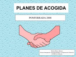 PLANES DE ACOGIDA