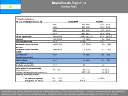 Argentina - Secretaría de Economía