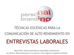 ESCUELA DE COMUNICACION - personalbranding
