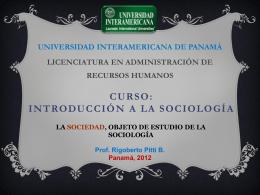 Sesion 6 - Introsociologia