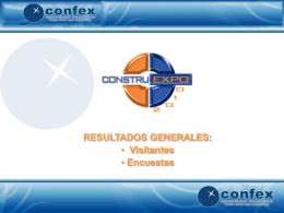 Resultados Construexpo 2010
