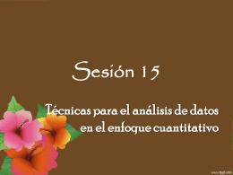 Sesión 15 - ana-upn