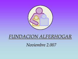 FUNDACION ALFERHOGAR