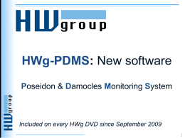 HWg-PDMS - HW group