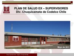 Presentación Isapre Chuquicamata