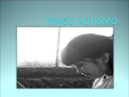 TENGO AUTISMO proxemia