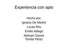 nacho, nehuen, tomy, emi, lucas