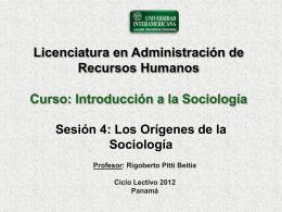 Sesion 4 - Introsociologia