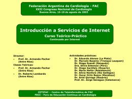 arch. . - Federación Argentina de Cardiología