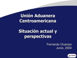 Unión Aduanera Centroamericana