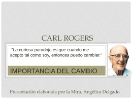 Carl Rogers y el self