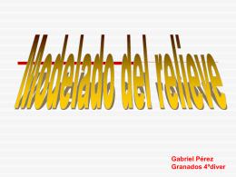 Modelado del relieve-gabri